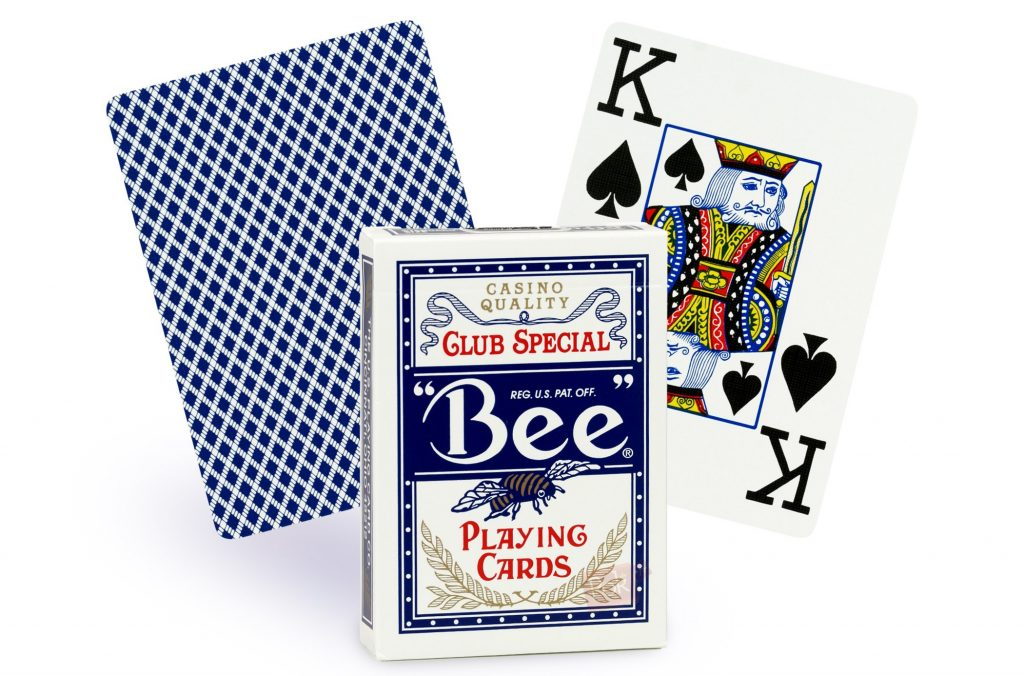 cartes-bee-poker-jumbo-bleu